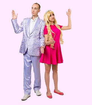 Аниматоры Барби и Кен