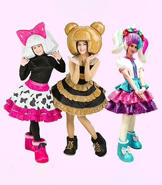 Аниматоры Куклы LOL